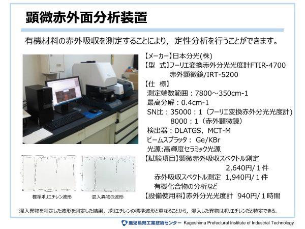 顕微赤外面分析装置